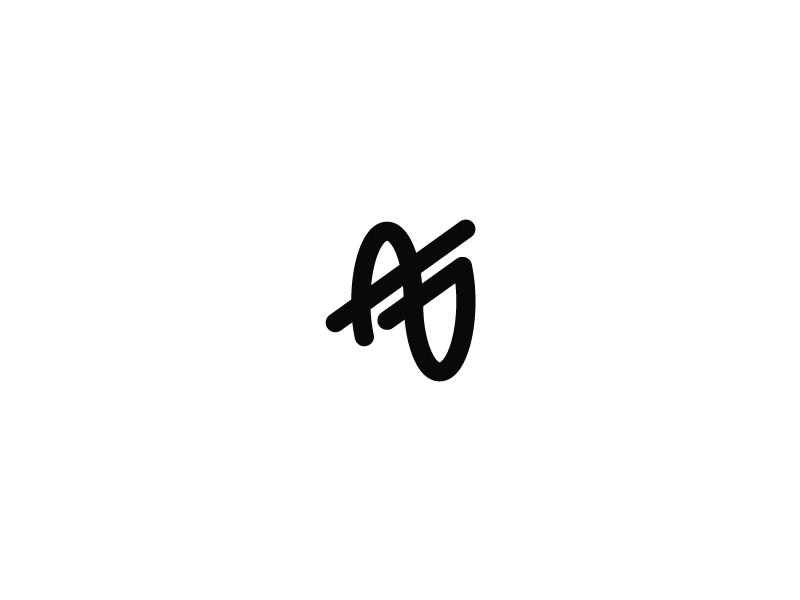 Personal Identity Logo Update g a branding mark icon lettermark ag identity monogram logo personal