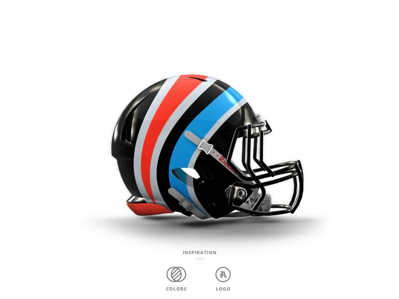 Mia football helmet