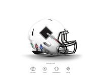 White Sox Football Helmet 13 of 30