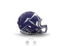 Rockies Football Helmet 14 of 30
