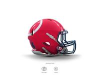 Angels Football Helmet 15 of 30