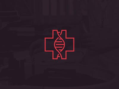 DNA Medical Logo II agrib genetics healthcare health emergency icon logomark helix dr doctor branding strand medicine logo simple clean line hospital medical dna