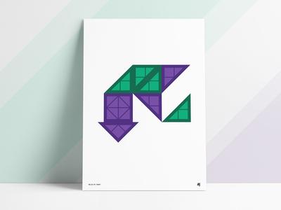 Magnet Shapes Poster