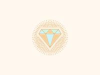 Circular Line Diamond