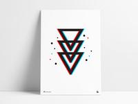 Poster 40 - Geometric Blur