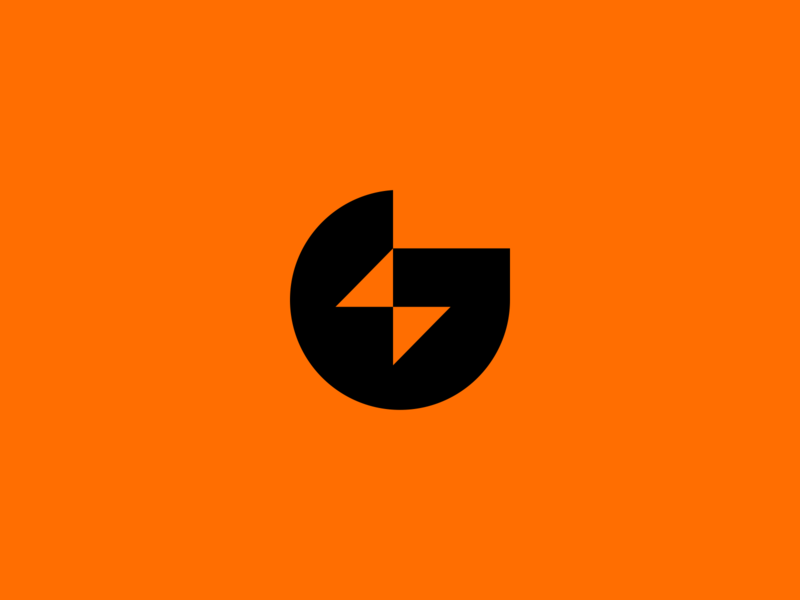 Gatorade g logo drink agrib logo mlb nfl nba thunder beverage sports energy supplement concept idea rebranding rebrand lightning bolt lightning negative space gatorade
