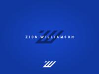 ZW Zion Williamson Logo