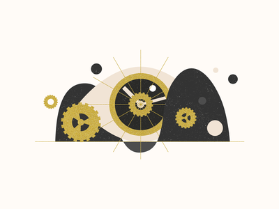 Watch Illustration stars icon time beam clock noise vector illustration vector agrib planet gold eyeball eye illustration outer-space outer space outerspace space jewelry watch