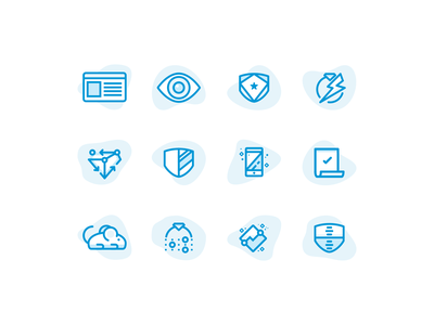 Insurance Icon Set watch iconography diamond diamonds icon design icon system icon style illustration set damage critter critters cover coverage shield shields agrib vector illustration blue and white icon icons symbol icon sets icon set jewelry ring icon insurance insure insuring