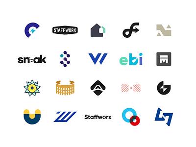 2019 Logo Collection collection identity wordmarks icons icon marks lettermarks logomarks various multiple creative branding portfolio logofolio agrib past year logoset logo set logo collection logos 2019