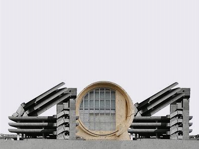 Brutalism 404 collage brutalism 404