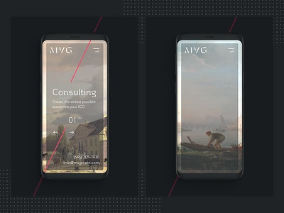 Private Consulting — Mobile Ver consulting mobile gallery art