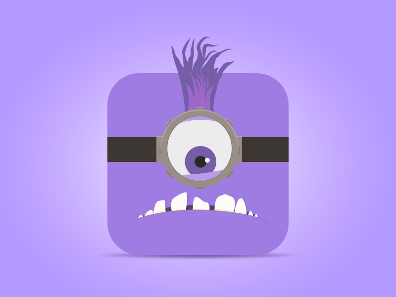 Evil Minion Icon By Jonathan Girton Dribbble