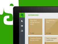 Unofficial Evernote Windows modern UI design