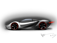 Icarus mid-engined concept