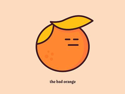 The Bad Orange bsds trump challenge rakkas illustration orange