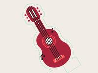 Guitar Game Piece