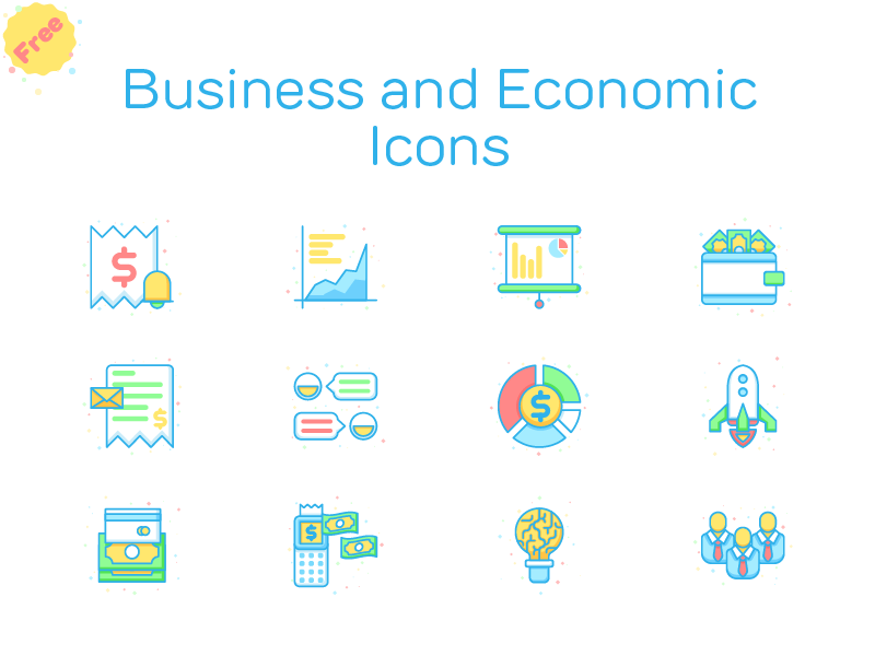 Download Free Business and Economic Icons