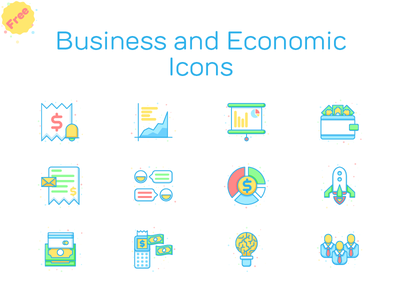Free Business and Economic Icons website web freebies freebie interface user ui line iconset iconography icon button