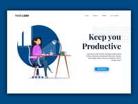 Productive Landing Page