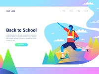 Back To School 🏢 Landing Page