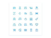 E Commerce And Shopping Icon set