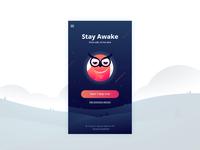 Stay Awake App Screen