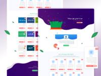 Nowrooz Digital Marketing landing page