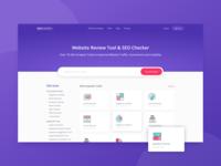 Website Review Tool & SEO Checker