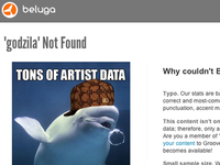 Beluga artist not found page