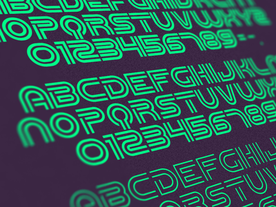 Font WIP inline bold font