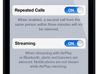 Do Not Disturb & Streaming Integration