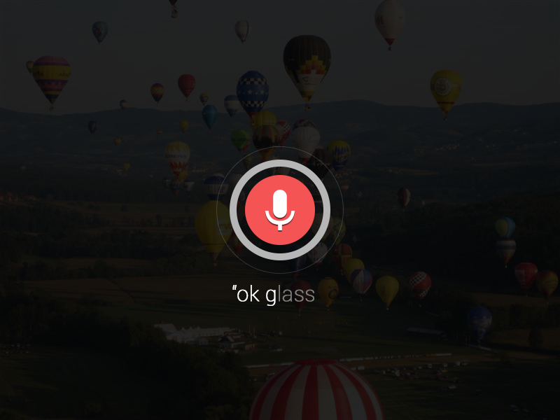 """Google Glass """"ok glass"""" from Anywhere google glass google glass search voice concept"""