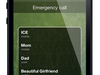 Emergency Call List Concept