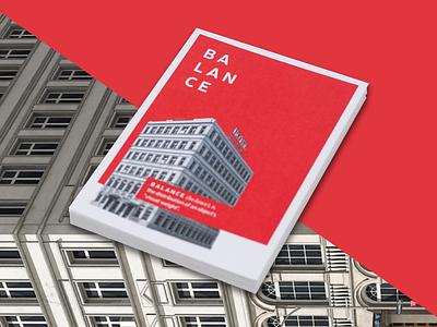 Postcard Design architecture color dictionary balance graphic design postcard element