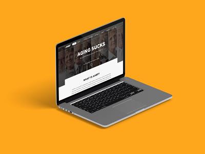 AARP Website Redesign studio interface branding redesigned aarp uxui design userexperience redesign concept graphicdesign desktop website redesign
