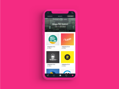 TuneYou Radio App navigation button songs trendy worldwide app uxui concept graphicdesign branding userexperience music art music userinterface design radio