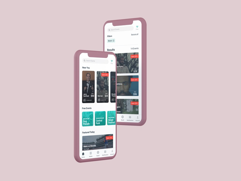 TimeOut Tix-In cards design application studio concept ux vector ui logo interface graphic  design ticket app tickets timeout music concerts events app events userexperience uxui design