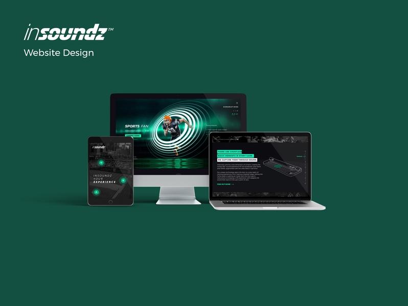 Insoundz Project application ui freelance visualdesign digitaldesign platforms responsive concept interface graphicdesign uxui userinterface userexperience design soundsystem webdesign website startup music sound