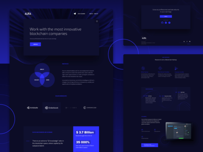 Recruiting company - Landing Page