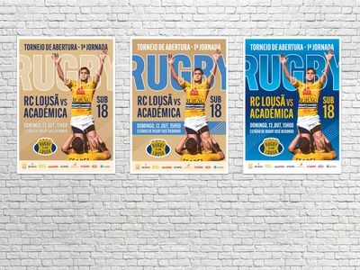 Posters for Rugby Club