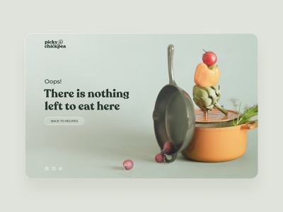 404 Page redesign concept typography branding ui design dailyui concept landing page web design vegan green minimal clean website design 404 page