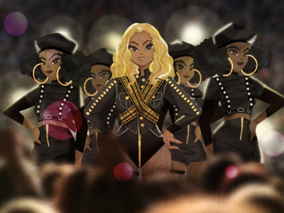 Beyonce from Superbowl 50