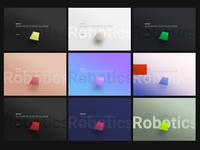 Exploring color, gradient combos part 1