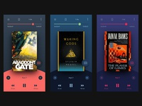 Daily UI #009 - Music (Audio book) Player