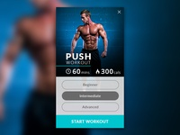 Fitness Card - Day 8