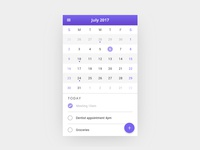 Calendar Card - Day 11
