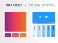 Gradient + Color System