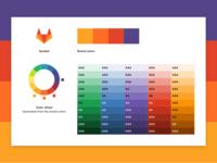 Harmonious UI color palette