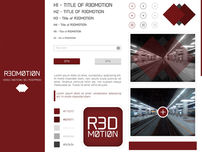 Ui Redmotion ui